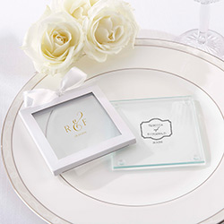 Personalized Glass Coaster - Classic (Set of 12)