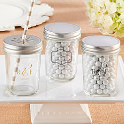 Personalized Printed Mason Jar - Classic (Set of 12)