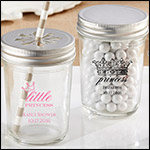 Personalized Printed Mason Jar - Little Princess (Set of 12)