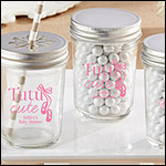 Personalized Printed Mason Jar - Tutu Cute (Set of 12)