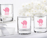 Personalized 2 oz. Shot Glass/Votive Holder - Little Peanut