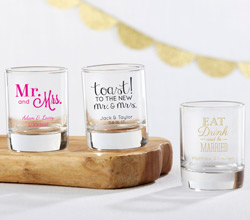 Personalized 2 oz. Shot Glass/Votive Holder