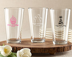 Personalized 16 oz. Pint Glass - Birthday